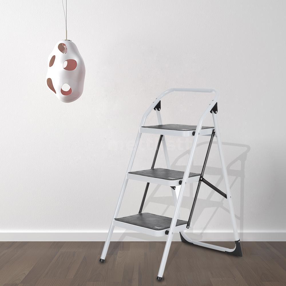 leiter klappleiter haushaltsleiter klapptritt 3 stufen bis. Black Bedroom Furniture Sets. Home Design Ideas